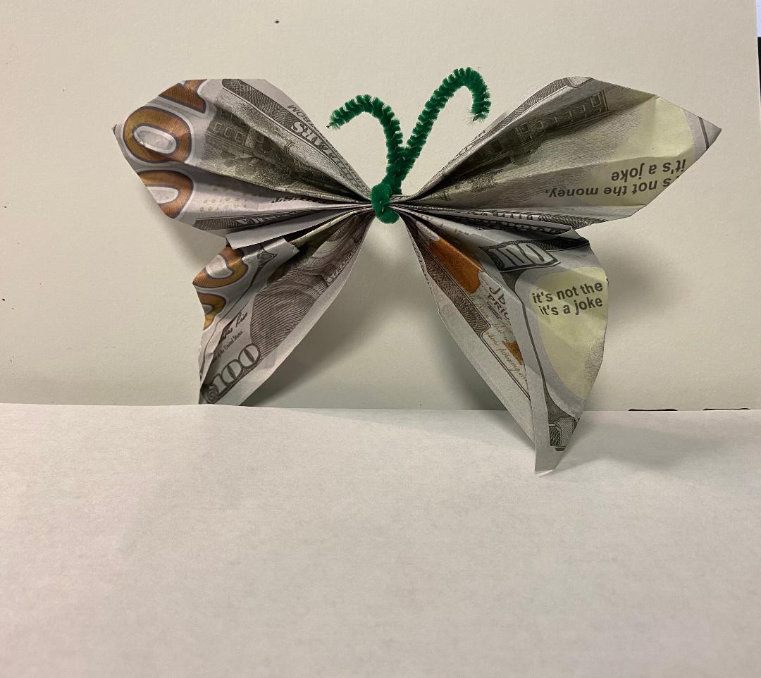Weekend Fun: How to Make an Origami Butterfly