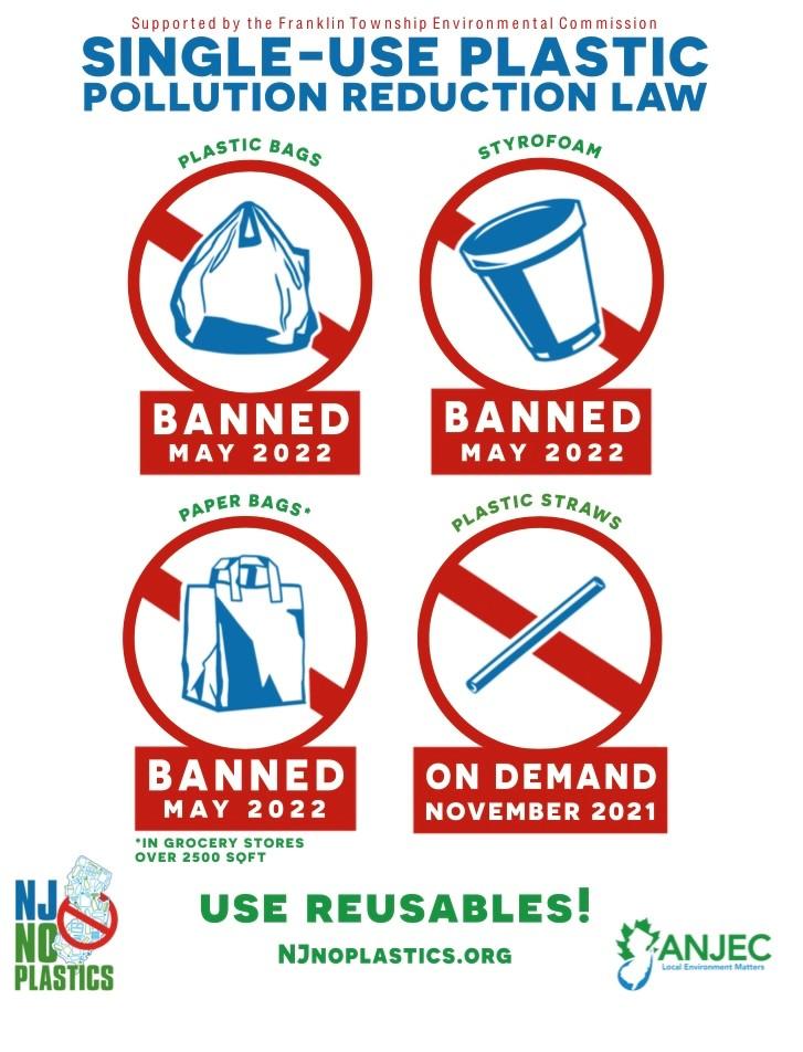 NJ's Plastic Bag Ban begins in 2022